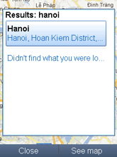 Phần mềm Google Map 3D phiên bản mới nhất cho java
